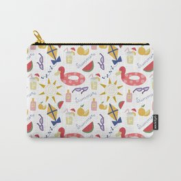 Cute Summer doodles Pattern design Carry-All Pouch