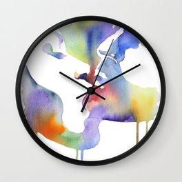 Walking on a thin line (Dangerous liaisons) Wall Clock
