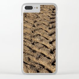 plowed soil Clear iPhone Case
