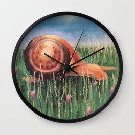 Elmo the Snail Wall Clock