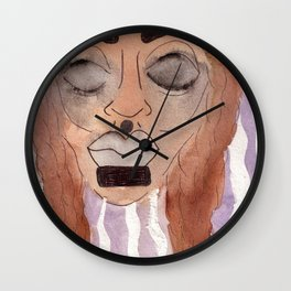 hurt Wall Clock