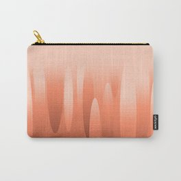 Opulent Coral Tones Carry-All Pouch