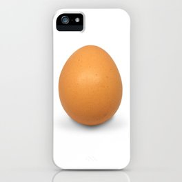 Chicken Egg , the brown eggs Artistic inspiration iPhone Case