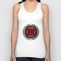 hip hop Tank Tops featuring HIP HOP  by Robleedesigns