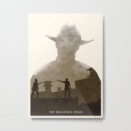 The Walking Dead (II) Metal Print