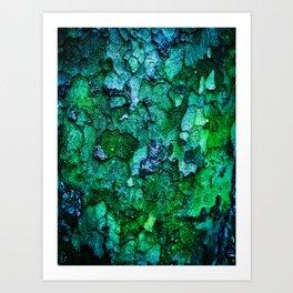 Underwater Wood 2 Art Print