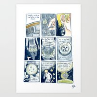 Love Letter to the Moon Art Print