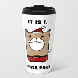 Santa Paws Metal Travel Mug