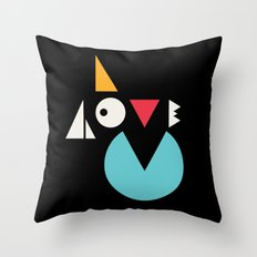 I love you. Throw Pillow