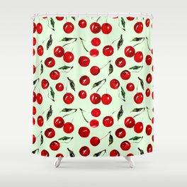 Very cherry Shower Curtain