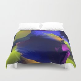 Abstract lights Duvet Cover