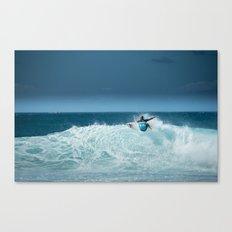 Kelly Slater at pipemasters 2013, hawaii Canvas Print