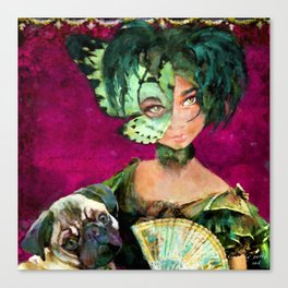 The Mademoiselle 'Tite Poulette & Clotile attend Bal de Cordon Bleu Canvas Print