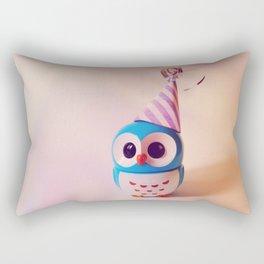 Owly BDay Party Rectangular Pillow