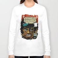 returns Long Sleeve T-shirts featuring BUCK RETURNS by BlackKirby1