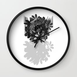 Sadly, there are no parachutes for plants. Wall Clock
