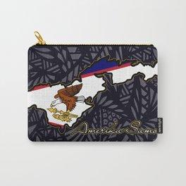 Amerika Samoa Carry-All Pouch