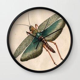 Big Grasshopper Wall Clock