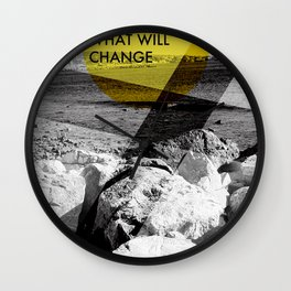 What Will Change Wall Clock