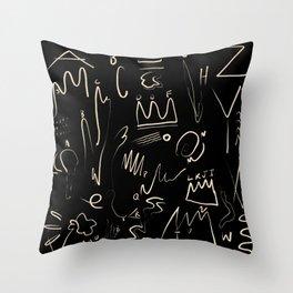 ABC's Throw Pillow
