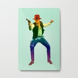 Indiana Solo Variant R Metal Print