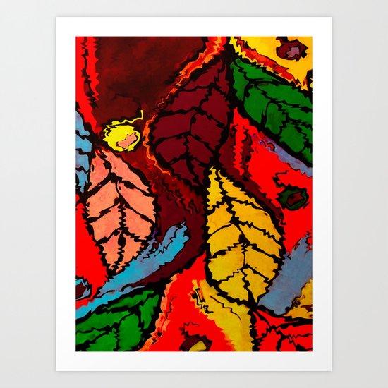Nature's Explosion Art Print
