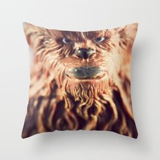 Not Wise To Upset A Wookie Throw Pillow