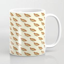 Hot-Dog Pattern Coffee Mug