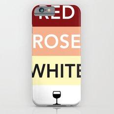 French Wines Bordeaux Bourgogne iPhone 6s Slim Case