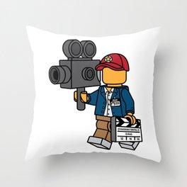 Director's Cut Throw Pillow