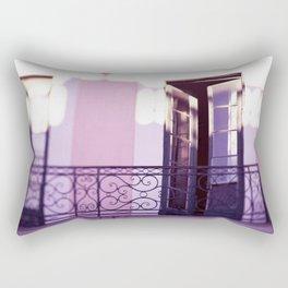 French Quarter Color, No. 4 Rectangular Pillow