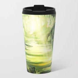 Tardis In The Swamp Travel Mug