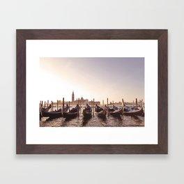 Venice Landscape  Framed Art Print