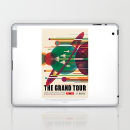 Grand Tour - NASA Space Travel Poster Laptop & iPad Skin