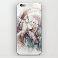 unicorn iPhone & iPod Skins featuring Unicorn by beart24