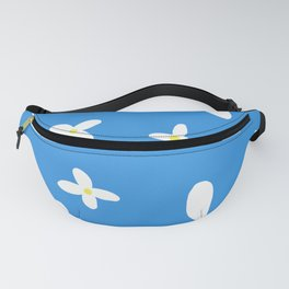 Classic Blue and White Flowers Fanny Pack