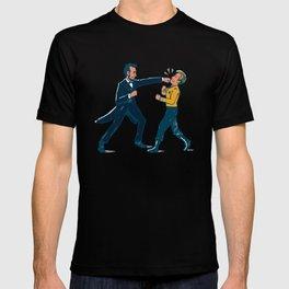 Abe Lincoln VS Captain Kirk T-shirt