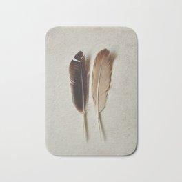 Feathered Pair Bath Mat