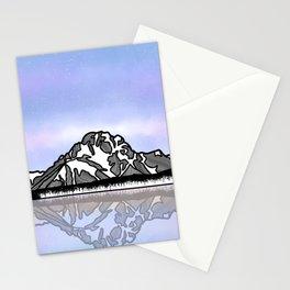 Mount Moran Stationery Cards
