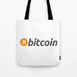 Bitcoin Logo Cryptocurrency Tote Bag