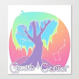 Ground & Center Canvas Print