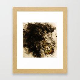 Lion's Den Framed Art Print