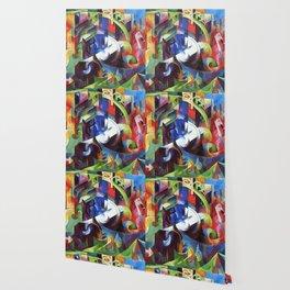 "Franz Marc ""Cattle (Rinder)"" Wallpaper"
