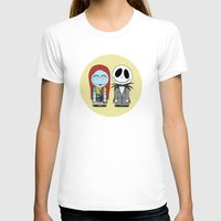nightmare before christmas T-shirts featuring Nightmare Before Christmas by Big Purple Glasses