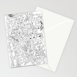 Fragments of memory Stationery Cards