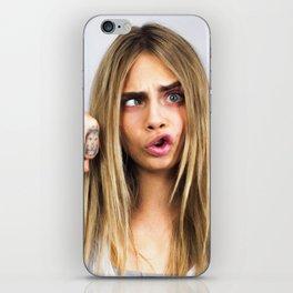 Funny Cara iPhone Skin