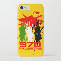 palestine iPhone & iPod Cases featuring Palestine Code by Maxvtis