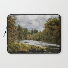 Fall on the McKenzie River Laptop Sleeve