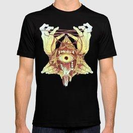 gold eye T-shirt