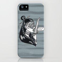 Cuidado! iPhone Case